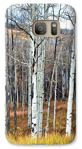 Galaxy Case featuring the photograph Colorado Fall Aspen by James Steele