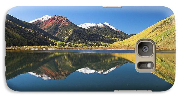 Galaxy Case featuring the photograph Colorado Reflections by Steve Stuller