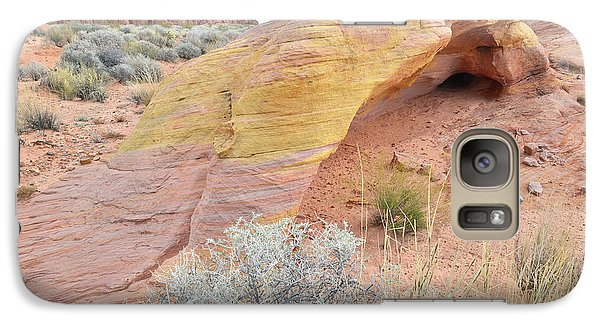 Galaxy Case featuring the photograph Colorful Arch In North Valley Of Fire by Ray Mathis