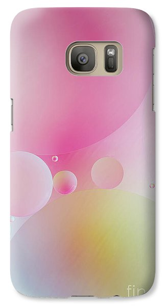 Galaxy Case featuring the photograph Colorful Bubbles by Elena Nosyreva