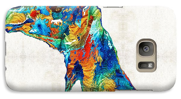 Colorful Camel Art By Sharon Cummings Galaxy S7 Case