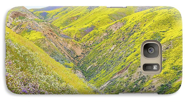 Galaxy Case featuring the photograph Colorful Canyon by Marc Crumpler