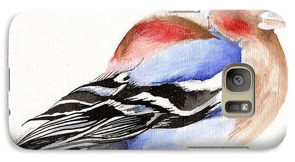 Colorful Chaffinch Galaxy S7 Case by Nancy Moniz