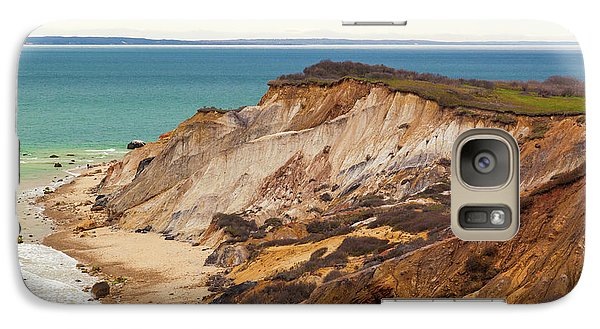Galaxy Case featuring the photograph Colorful Clay Cliffs On The Vineyard by Michelle Wiarda