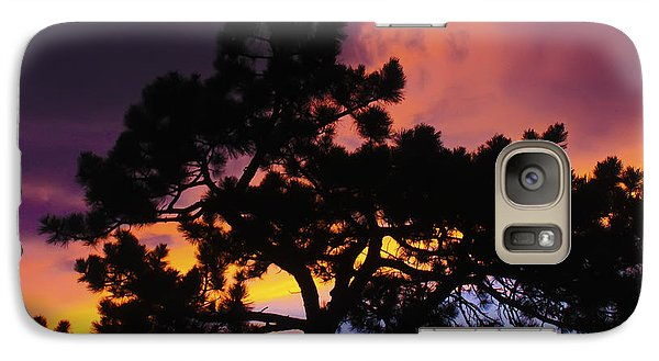 Galaxy Case featuring the photograph Colorful Colorado Sunset by Perspective Imagery