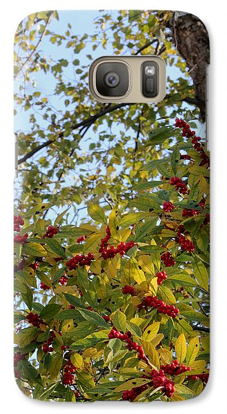 Galaxy Case featuring the photograph Colorful Contrasts by Deborah  Crew-Johnson