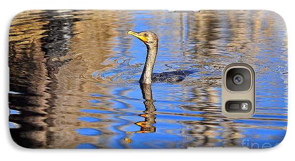 Galaxy Case featuring the photograph Colorful Cormorant by Al Powell Photography USA