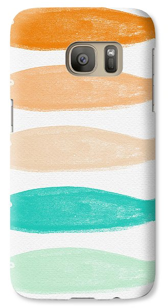 Colorful Fish Galaxy S7 Case by Linda Woods