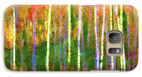 Colorful Forest Abstract Galaxy S7 Case