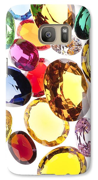 Colorful Gems Galaxy Case by Setsiri Silapasuwanchai