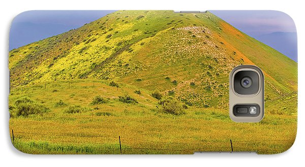 Galaxy Case featuring the photograph Colorful Hill by Marc Crumpler