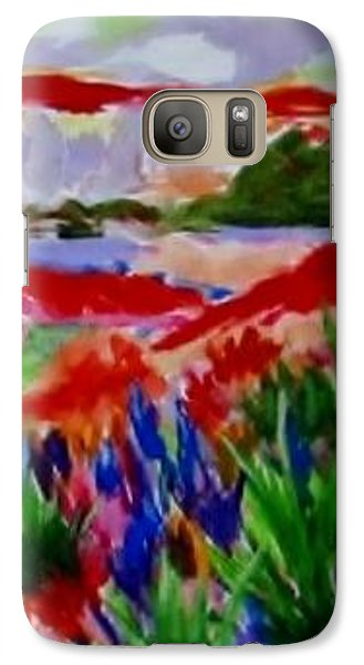 Galaxy Case featuring the painting Colorful by Jamie Frier