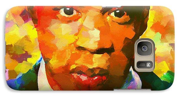 Jay Z Galaxy S7 Case - Colorful Jay Z Palette Knife by Dan Sproul