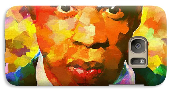 Colorful Jay Z Palette Knife Galaxy S7 Case by Dan Sproul