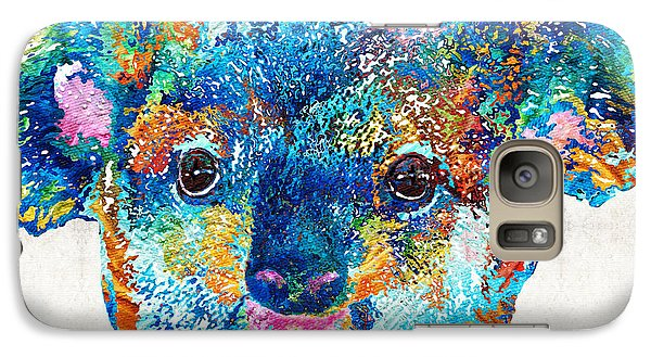Colorful Koala Bear Art By Sharon Cummings Galaxy S7 Case
