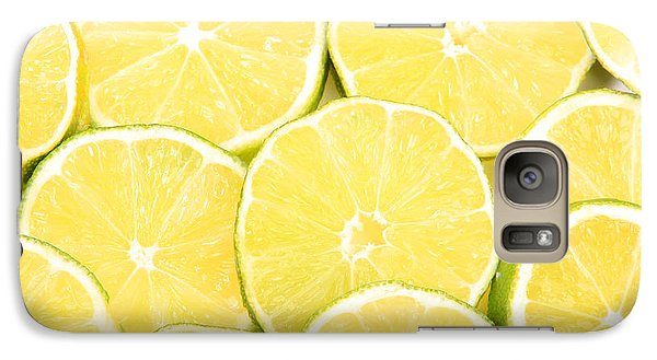 Colorful Limes Galaxy S7 Case by James BO  Insogna