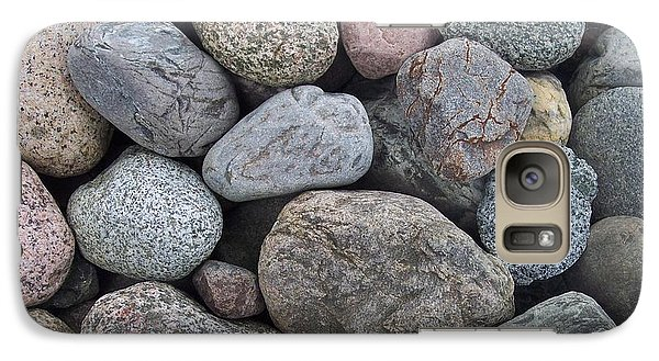 Galaxy Case featuring the photograph Colorful Rocks by Richard Bryce and Family