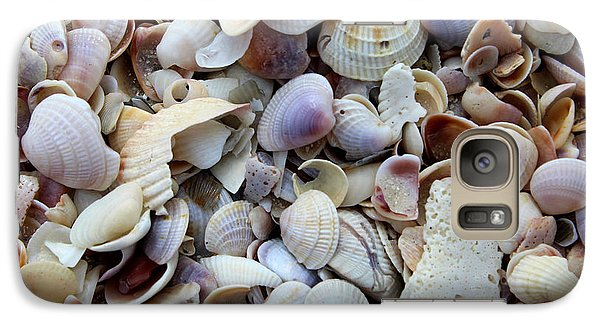 Galaxy Case featuring the photograph Colorful Shells by Jeanne Forsythe