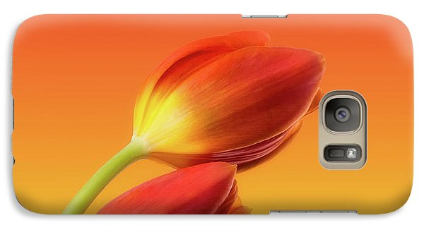 Colorful Tulips Galaxy S7 Case