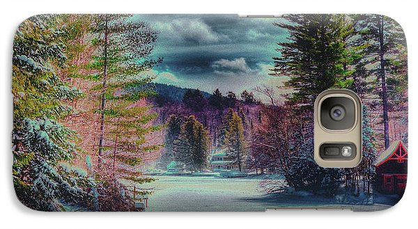 Galaxy Case featuring the photograph Colorful Winter Wonderland by David Patterson