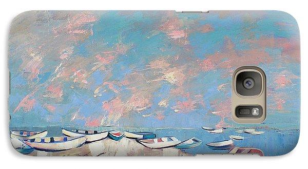 Galaxy Case featuring the painting Colors Flamingo by Anastasija Kraineva