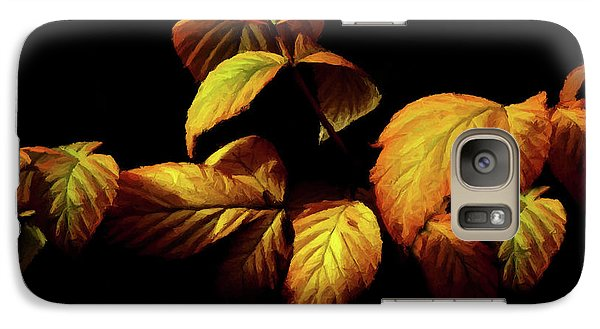 Galaxy Case featuring the painting Colors Of Autumn Memories  by David Dehner