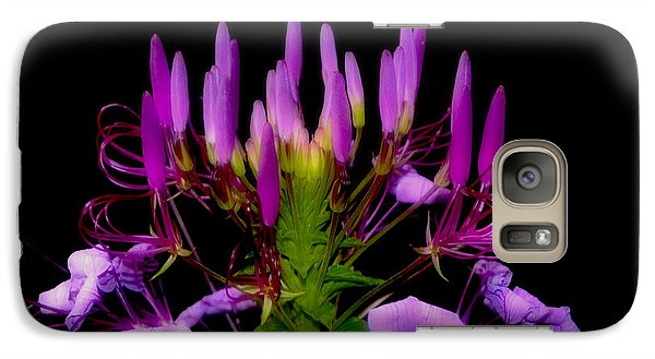 Galaxy Case featuring the photograph Colors Of Nature - Lavender 001 by George Bostian