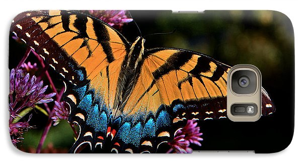 Galaxy Case featuring the photograph Colors Of Nature - Swallowtail Butterfly 004 by George Bostian