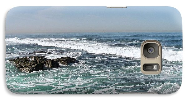 Galaxy Case featuring the photograph Colors Of The Sea by Carol  Bradley