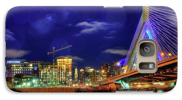 Galaxy Case featuring the photograph Colors Of The Zakim Bridge - Boston, Ma by Joann Vitali