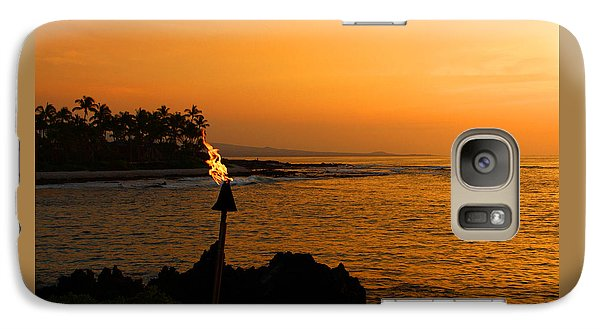 Galaxy Case featuring the photograph Colors Of Waikoloa Hawaii by Kerri Ligatich