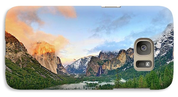 Mountain Galaxy S7 Case - Colors Of Yosemite by Jamie Pham