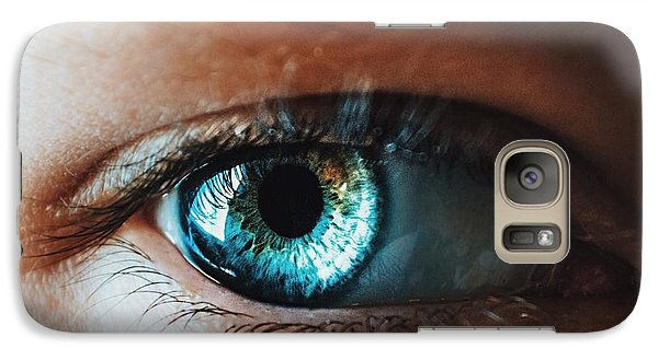Galaxy Case featuring the photograph Colors by Parker Cunningham