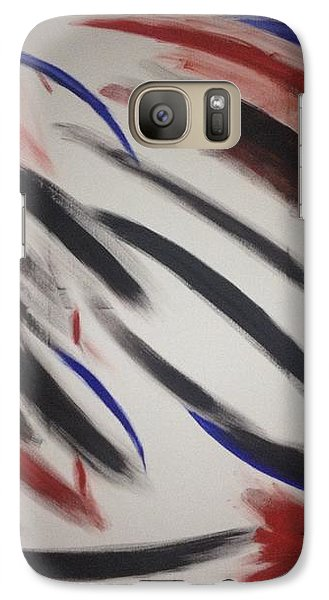 Galaxy Case featuring the painting Abstract Colors by Sheila Mcdonald