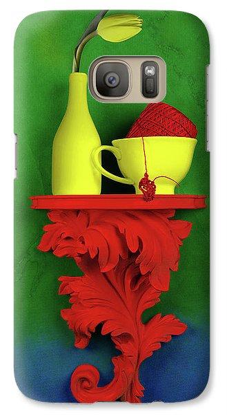 Tulip Galaxy S7 Case - Colors by Tom Mc Nemar