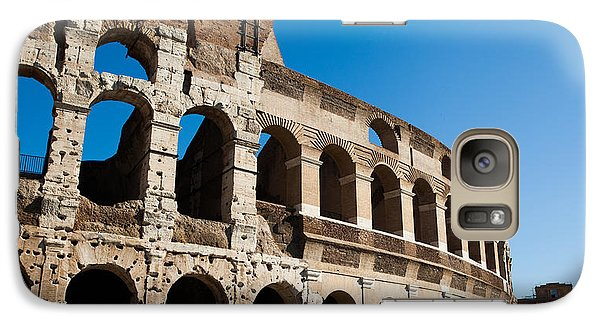 Galaxy Case featuring the photograph Colosseum - Old And New by Ed Cilley