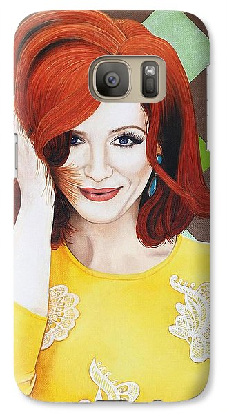 Galaxy Case featuring the painting Colour Inspired Beauty by Malinda Prudhomme