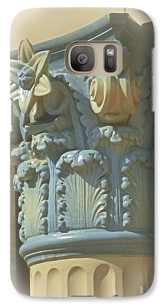 Galaxy Case featuring the photograph Coloured With Sand And Sky by Connie Handscomb