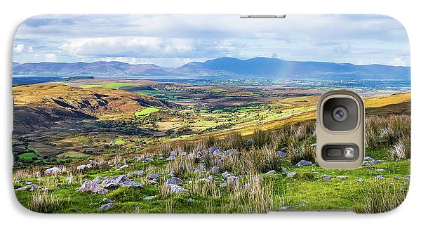 Galaxy Case featuring the photograph Colourful Undulating Irish Landscape In Kerry  by Semmick Photo