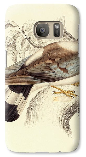 Columba Leuconota, Snow Pigeon Galaxy S7 Case by Elizabeth Gould