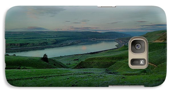Galaxy Case featuring the photograph Columbia Gorge In Early Spring by Jeff Swan