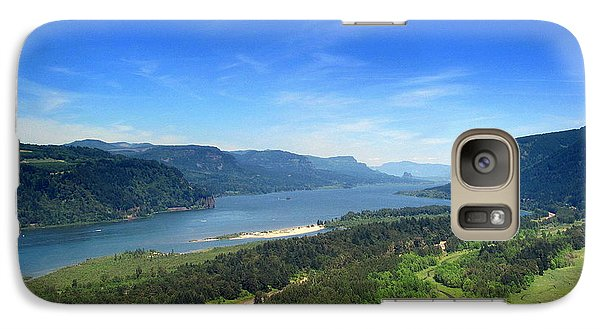 Galaxy Case featuring the photograph Columbia Gorge by Irina Hays