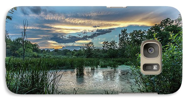 Columbia Marsh Sunset Galaxy S7 Case