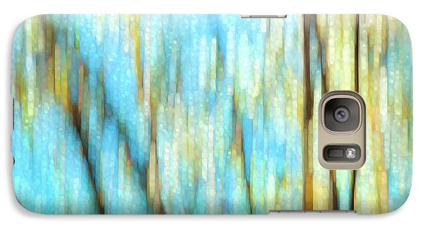 Galaxy Case featuring the photograph Columbia River Abstract by Theresa Tahara