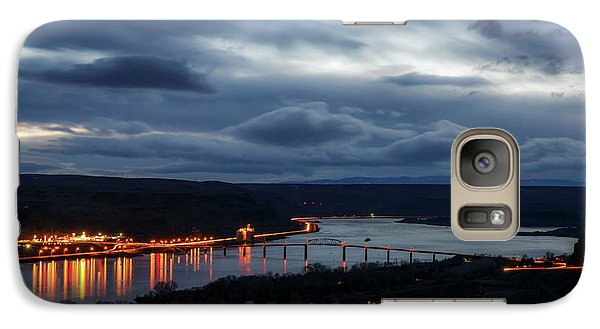 Galaxy Case featuring the photograph Columbia River by Cat Connor