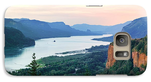 Columbia River With Vista House Galaxy S7 Case