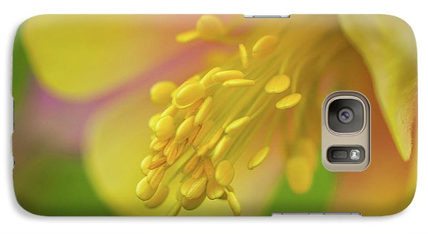 Galaxy Case featuring the photograph Columbine by Greg Nyquist