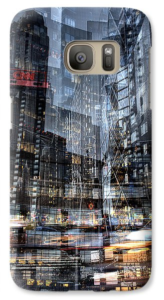 Columbus Circle Collage 1 Galaxy S7 Case