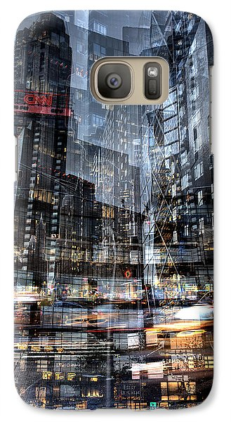 Columbus Circle Collage 1 Galaxy S7 Case