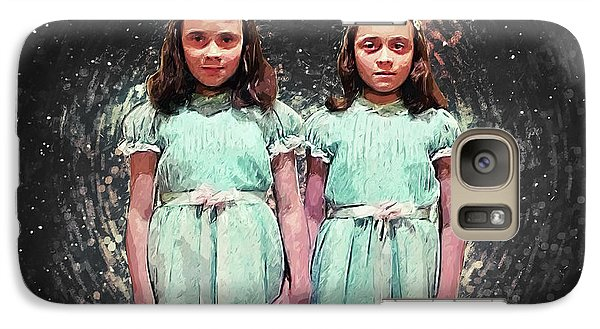 Come Play With Us - The Shining Twins Galaxy S7 Case